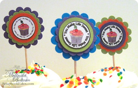 cricut cupcake idea digital clipart scallop paper craft close up