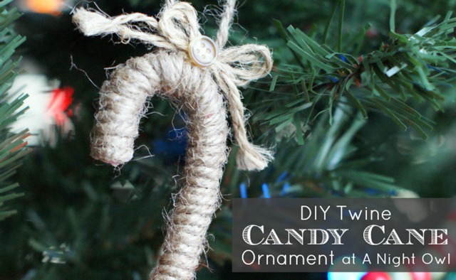 Trim-Your-Tree-Series-DIY-Twine-Candy-Cane-Ornament-at-@anightowlblog-trimyourtree