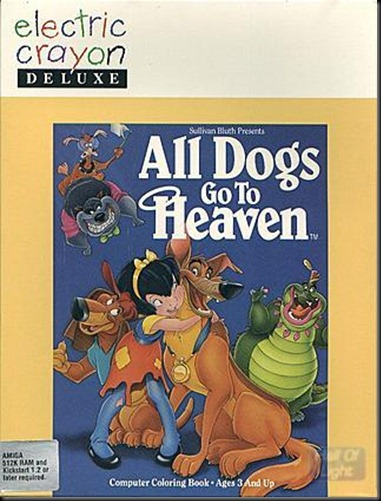 All dogs to heaven coloirung book