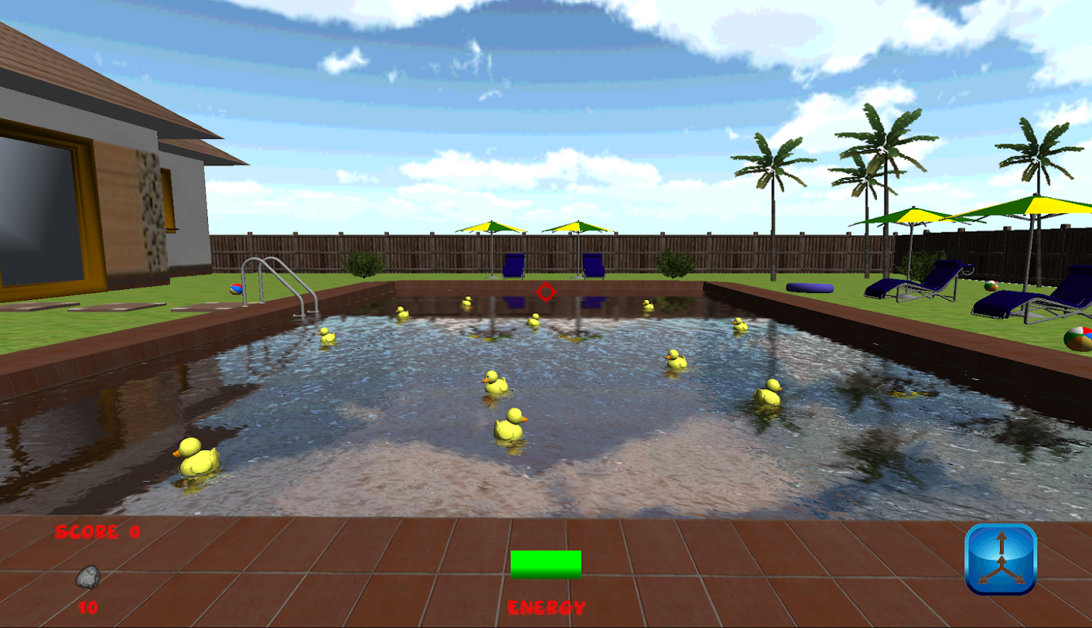 Pool Duck Hunt 3D- screenshot
