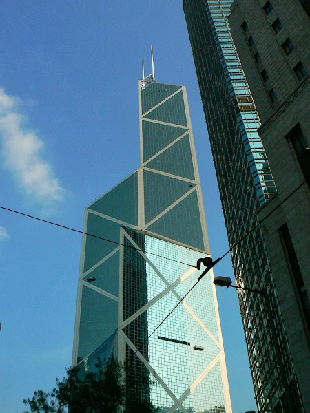 Obiective turistice Hong Kong:  Bank of China