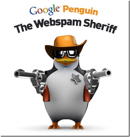 Google-Penguin by Google at Irsah Blog Negative SEO