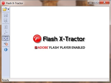Flash X-Tractor EXE2SWF and SWF2EXE tool