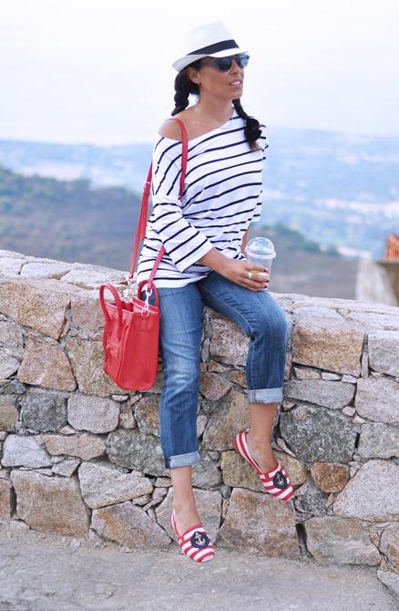 outfit, corsica, summer 2013, italian fashion bloggers, le righe must have, fashion bloggers, street style, zagufashion, valentina coco, i migliori fashion blogger italiani
