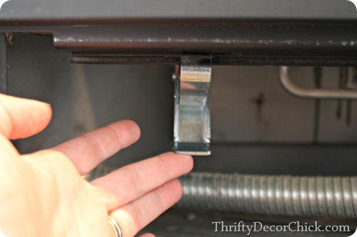 how to clean inside of gas fireplace