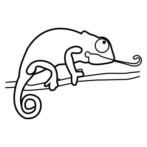 Maestra de Infantil: Los camaleones. Tamaño, características ...