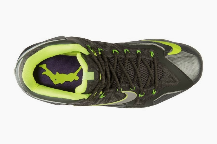new arrival 3a6a3 94439 Release Reminder Nike LeBron 11 Mica Green 8220Dunkman8221 ...