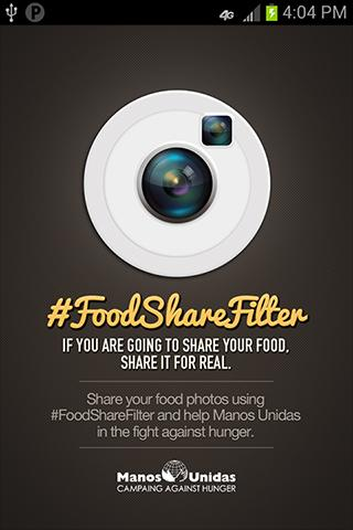 FoodShareFilter - screenshot