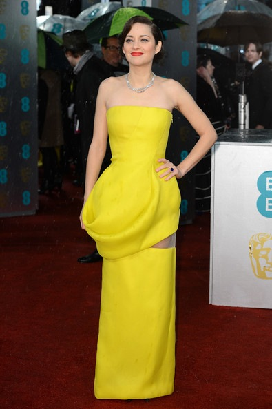 Marion Cotillard attends the EE British Academy Film Awards
