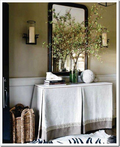 style at home october 2011 entryway