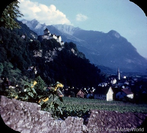View-Master The Five Little Countries of Europe (B149), Scene 19: Liechtenstein-Vaduz