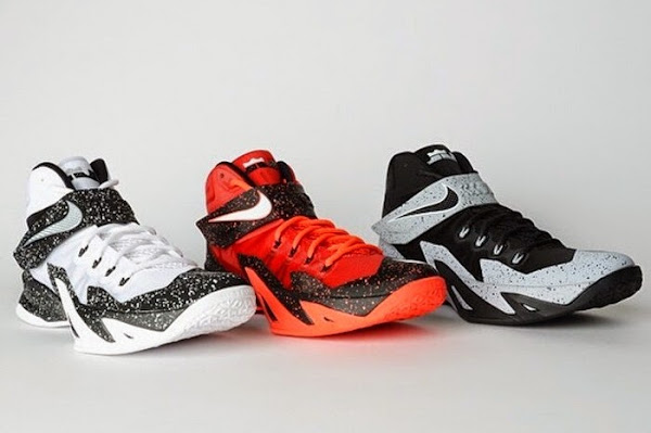 huge selection of 456e6 52420 3 x Nike Zoom Soldier 8 – Premium Player Pack | NIKE LEBRON ...
