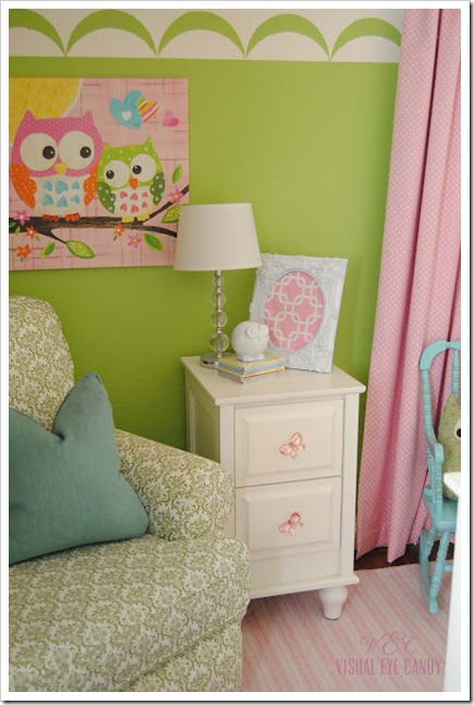 Nursery room reveal