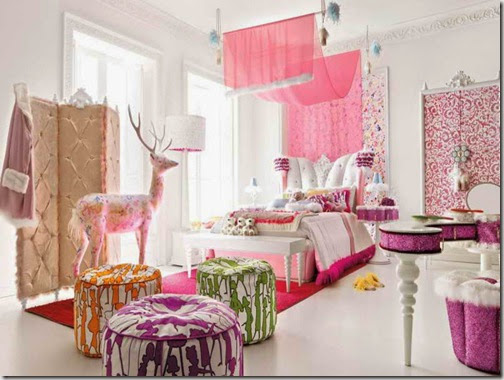 Cheap-Bedroom-Decorating-Ideas-for-Teenagers-With-Red-Carpet