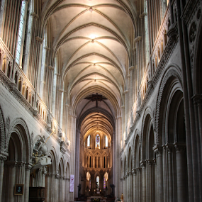BayeuxWorship by Michael Lunn - Buildings & Architecture Places of Worship (  )