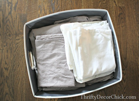 organizing sheet sets