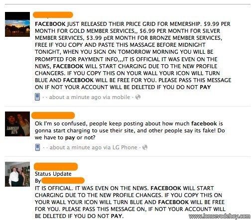 Cobrará a facebook por los nuevos perfiles