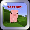 Cпаси свинью из Minecraft icon