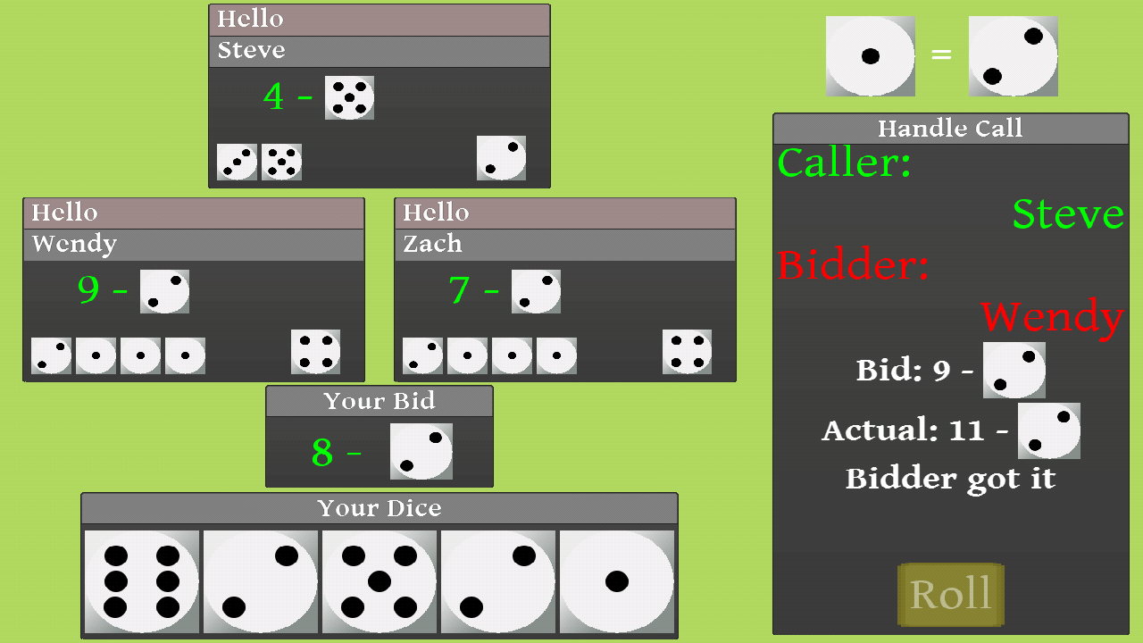 Liars Dice Multi- screenshot