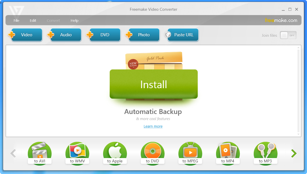 Freemake Video Converter Gold v4.1.10.15 Full İndir