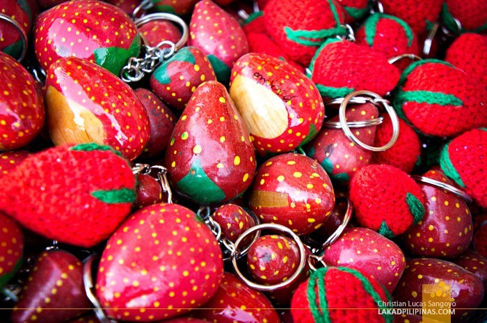 Souvenirs at La Trinidad's Strawberry Farm