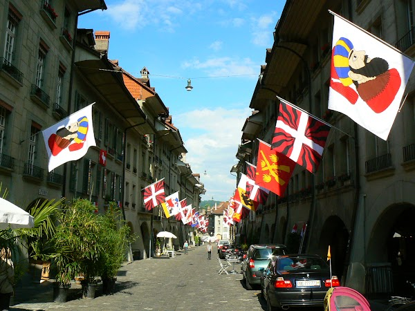 Obiective turistice Elvetia: strada centrala Bern