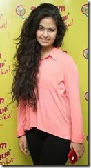 Actress Anandi @ Uyyala Jampala Team @ Radio Mirchi Photos