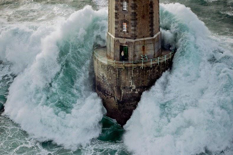 Image result for lighthouse waves