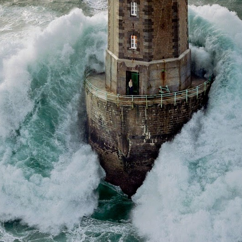 The Wave Swept Lighthouses of Brittany, France