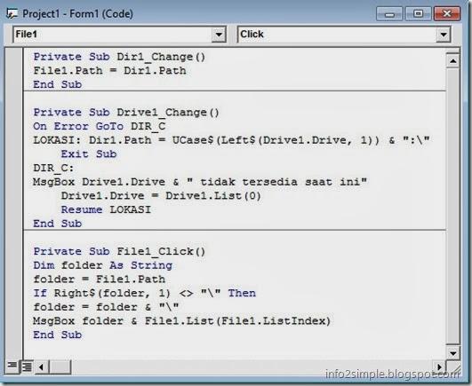 coding DriveListBox
