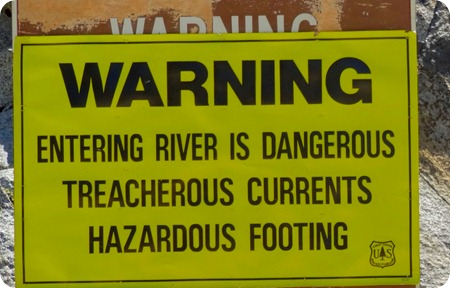 Kings River warning