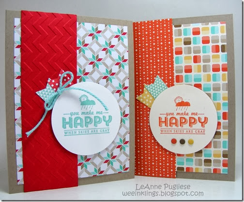 LeAnne Pugliese WeeInklings See Ya Later Duo Stampin Up SAB