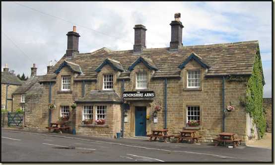 The Devonshire Arms - one of many hereabouts, this one at Pilsley