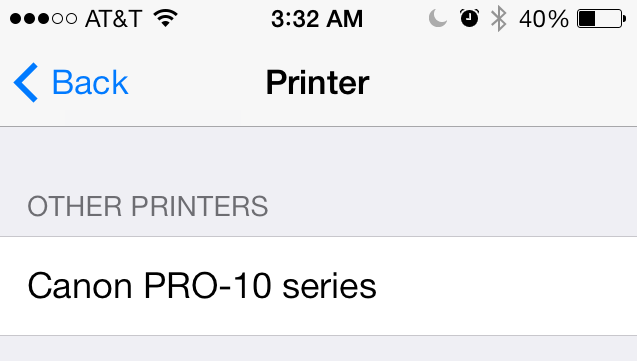 AirPrint just works with no apps