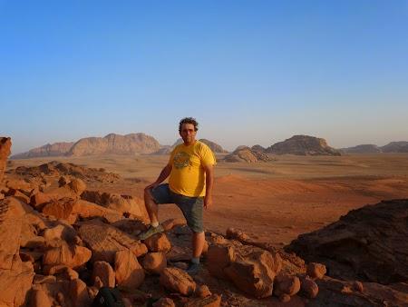 Obiective turistice Iordania: Apus de soare la Wadi Rum