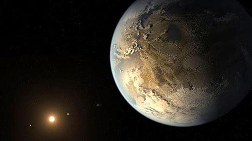 encontra planeta semelhante a terra