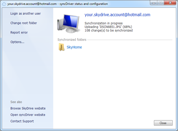 syncdriver