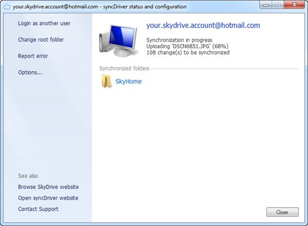 How to Setup SkyDrive on Windows XP - Instant Fundas