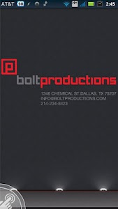 Bolt Photo Equipment screenshot 0