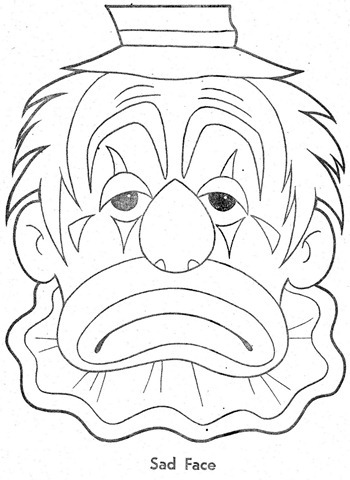 palhaço-colorir-Clowns To Color-coloring page-00006
