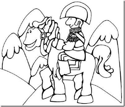 Cruce De Los Andes San Martín Para Niños Colorear Tus Dibujos