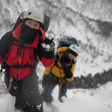 2日目 やっと稜に乗る