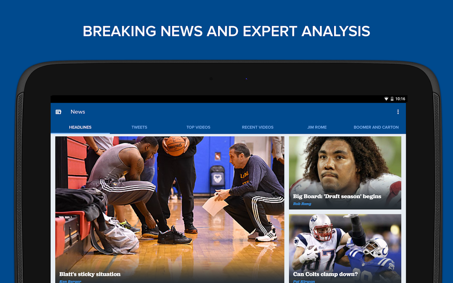 CBS Sports - screenshot