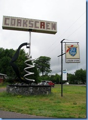 2776 Wisconsin US-2 East Hurley - World's Largest Corkscrew
