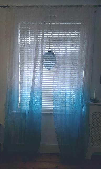 I Ve Had These Plain Lace Curtains From Ikea For Years Now And Although They Are Great A Light Window Dressing Was Beginning To Tire Of