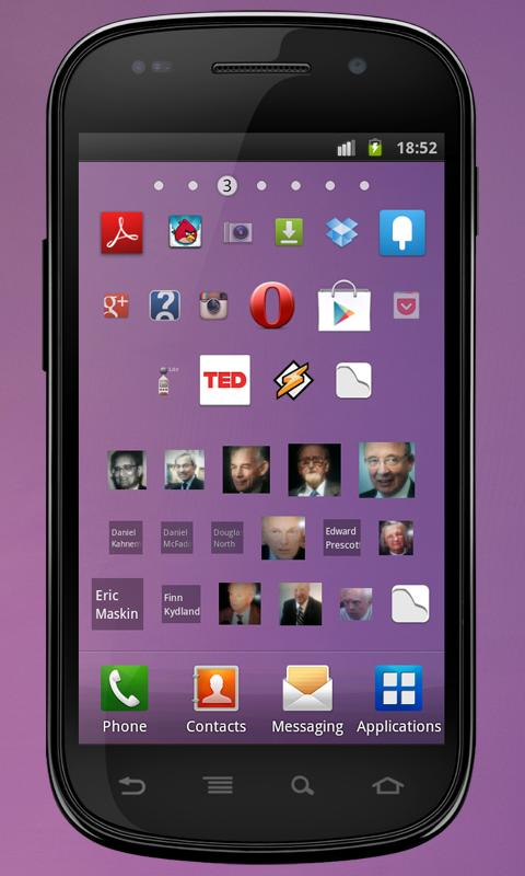 Imgy apps & contacts widgets- screenshot