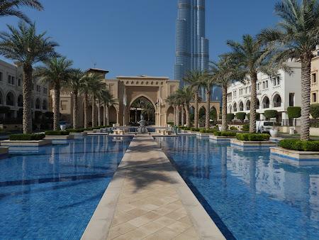 Cazare lux Dubai: Hotel The Palace Burj Khalifa