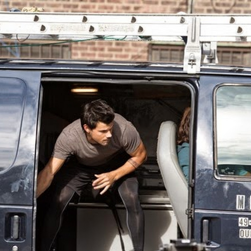 "Taylor Lautner in Non-Stop Kinetic Action in ""Tracers"""