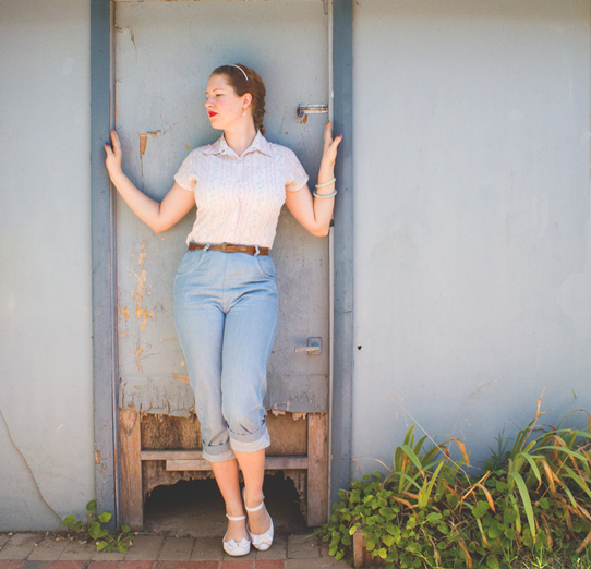 Love a collered shirt for cool summer wear | Lavender & Twill