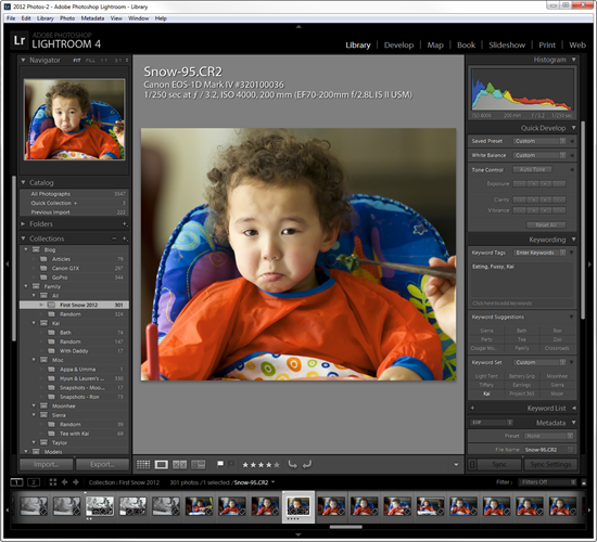 Adobe Lightroom 4 Library Module